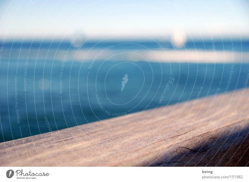 Sommer 2008: zett dreht mit seiner Riva Yacht Kreise vor Meer Holz Wasserfahrzeug Spaziergang Schifffahrt Segeln Steg Anlegestelle Fernweh Schwäche Jacht Promenade Strömung Brettwurzelbaum Sportboot
