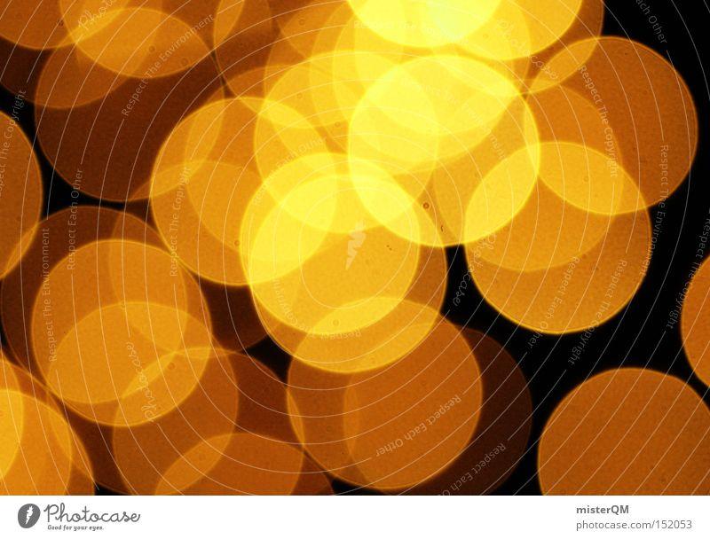 Golden Eye Reloaded - Weihnachten ist zum Lichteln da. Farbe Stimmung Kunst glänzend gold Gold Kreis retro Zauberei u. Magie abstrakt bezaubernd Feste & Feiern Muster besinnlich Achtziger Jahre