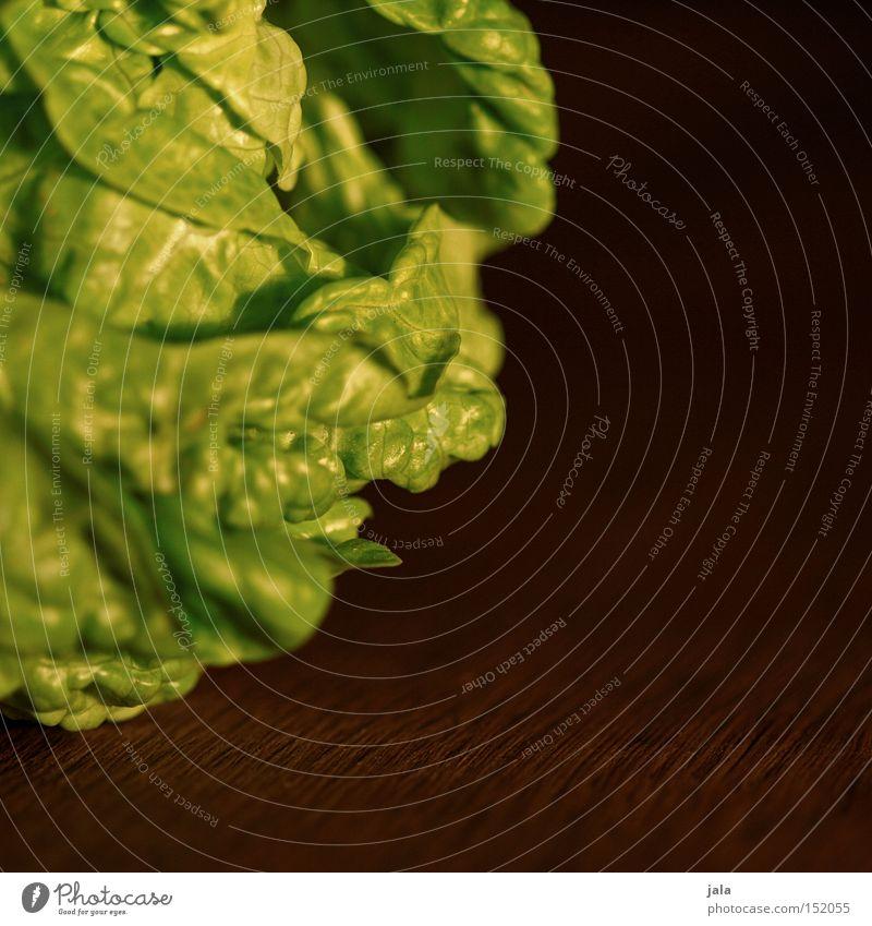 salatherzel Salat Salatbeilage Vitamin Bioprodukte Biologische Landwirtschaft Gemüse Gesundheit Makroaufnahme grün knackig lecker frisch Ernährung