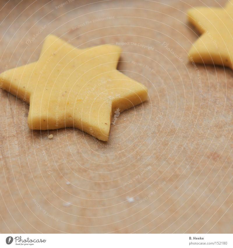 Ab in den Ofen Stern (Symbol) Backwaren Weihnachten & Advent Teigwaren stechen Backblech Plätzchen Süßwaren Haushalt Kuchen Weihnachtsbäckerei Mürbeteig backen