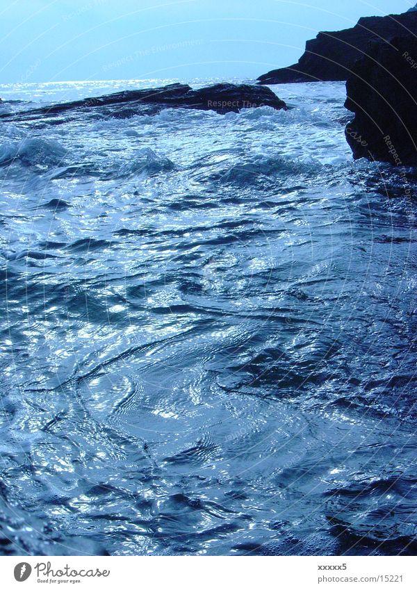 Wasserstruktur Meer