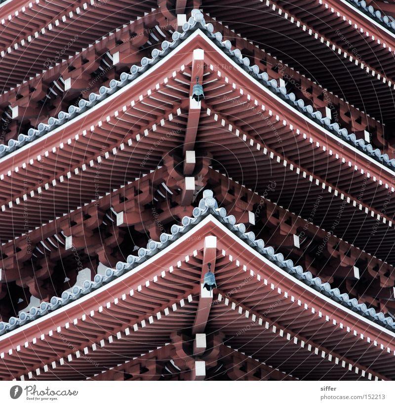 Kannon Tokyo Tempel Pagode Japan Asien geschmackvoll Buddhismus Schintoismus Gotteshäuser asakusa