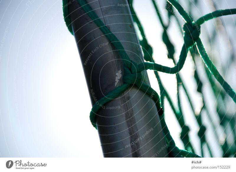 tor... Fußball Stab grün Metall Spielen Ball 2010 Südafrika Netz Torwart Lichtkegel hell Fosten