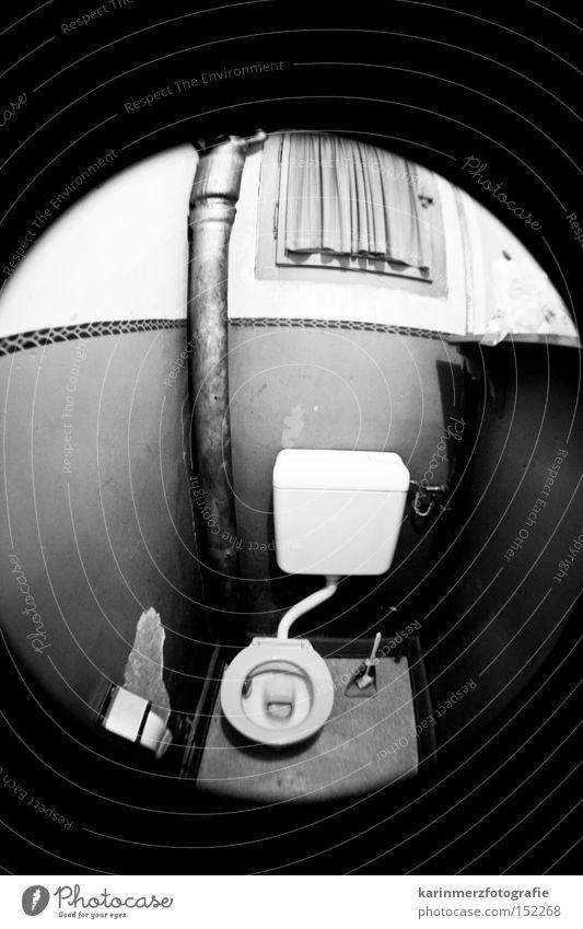 00 Bad Toilette Hütte Loch Schalen & Schüsseln Fischauge spülen