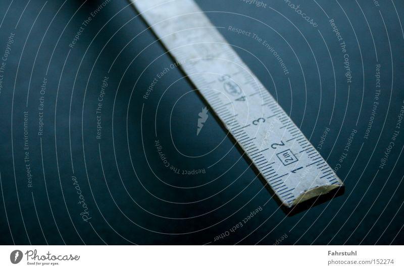 Zollstock Holz Handwerk Werkstatt Werkzeug Meter messen Wissenschaften