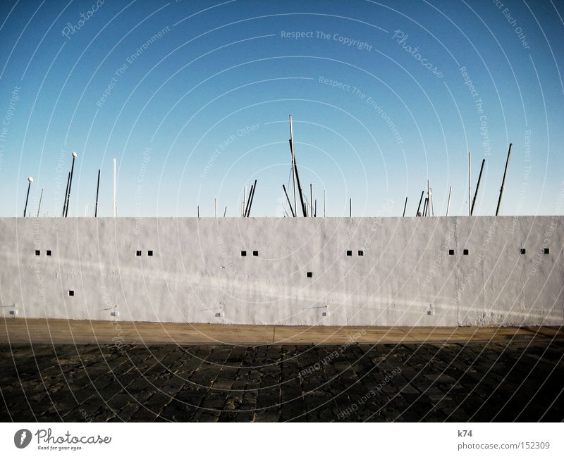 Geborgensein Mauer Wasserfahrzeug Sicherheit Schutz Hafen Vertrauen Geborgenheit Segel Portwein Sicherung