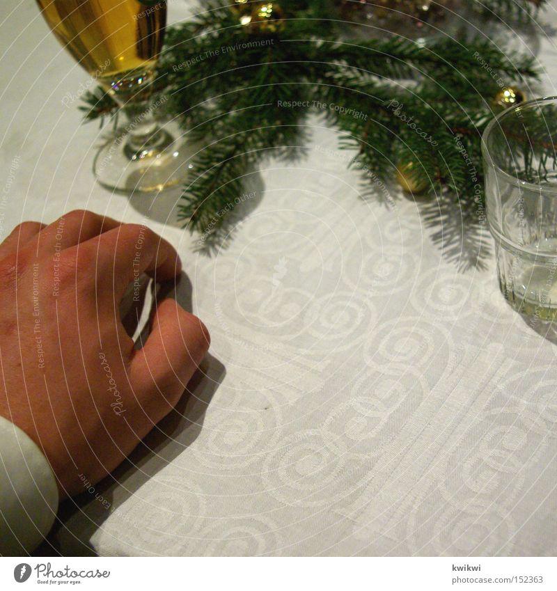 weihnachtsfeier Weihnachten & Advent Feste & Feiern Anzug Mann Hand Tisch edel elegant Bier Restaurant Gastronomie Alkohol Kneipe