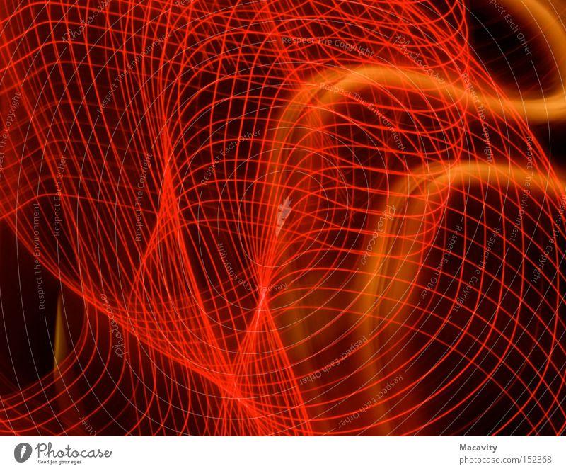 Glanzgitter Lichterkette ruhig Kontrast geschwungen Glas Hintergrundbild schwungvoll Wasserwirbel drehen glänzend Geschwindigkeit Neonlicht elektrisch Club