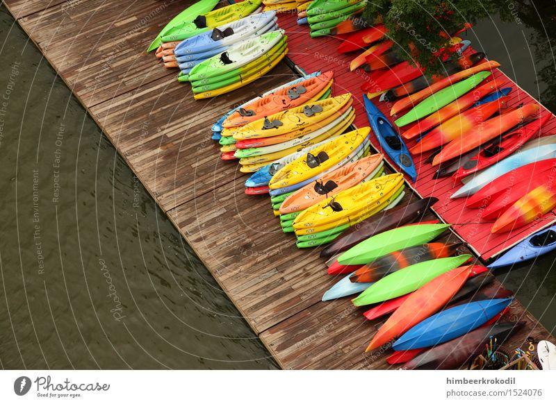 46 colours VS. Potomac River Natur Ferien & Urlaub & Reisen Wasser Erholung kalt Sport Lifestyle See Wasserfahrzeug Freizeit & Hobby nass Fitness Abenteuer Fluss Team sportlich