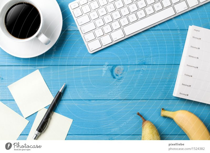 Business Lebensmittel Frucht Ernährung Vegetarische Ernährung Heißgetränk Kaffee Espresso Geschirr Tasse Häusliches Leben Wohnung Schreibtisch Tisch Bildung