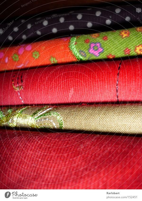 zwischen. stoff. Blume Farbe Farbstoff Mode Seil Ordnung Freizeit & Hobby Punkt Dinge Stoff Handwerk Stapel Tuch Textilien Wolle