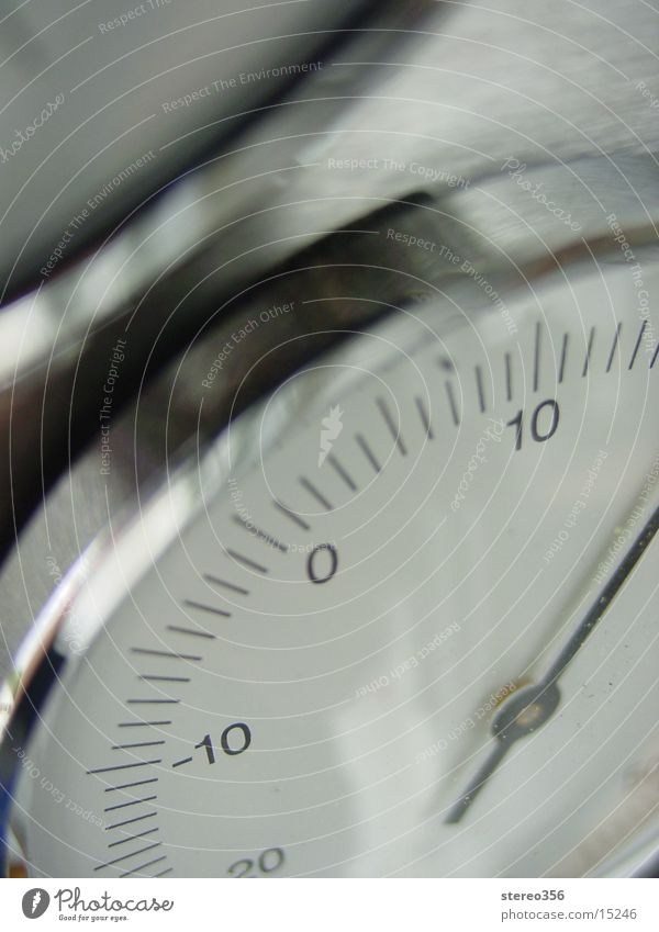 LowTemp Technik & Technologie Grad Celsius Skala Uhrenzeiger Elektrisches Gerät Thermometer