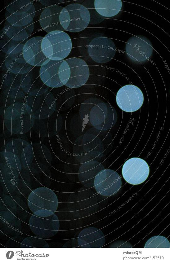 """""""Weihnachtskarte in Silber-Blau"""" oder """"Glühweinstand von unten"""" Stimmung glänzend Dekoration & Verzierung geheimnisvoll Konzentration Schmuck Vorfreude Dezember"""