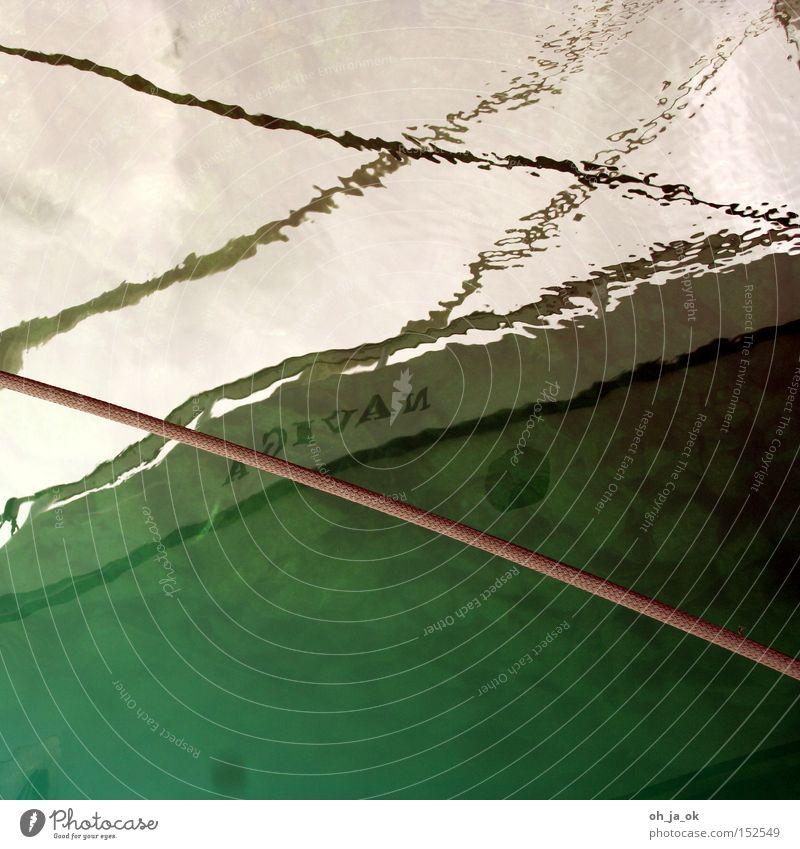 seelenverkäufer Hafen Wasser Seil Reflexion & Spiegelung Boden Segelboot Wasserfahrzeug Typographie Reling Kahn Meer Sportboot Reflexion u. Spiegelung Jacht