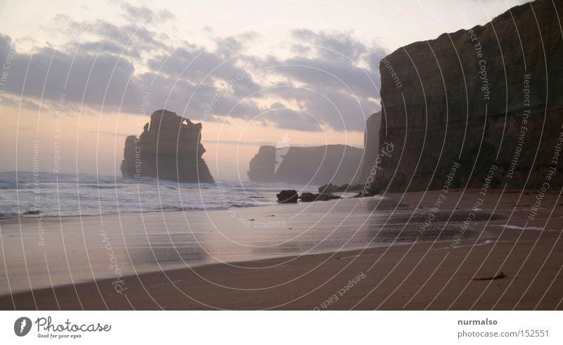 Great OSR Australien Strand Riff Meer Ende Abend Sonne Sand Wellen Brandung Straße Ferien & Urlaub & Reisen Aborigine Sydney Freude Sonnenuntergang