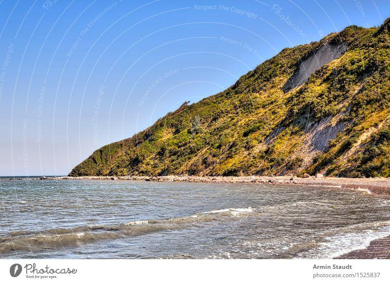 Küste - Hiddensee Natur Ferien & Urlaub & Reisen Sommer Meer Erholung ruhig Strand Umwelt Leben Stimmung Sand Tourismus Idylle Schönes Wetter Hügel
