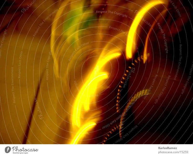 Caplight Licht glänzend Lichtstreifen gold