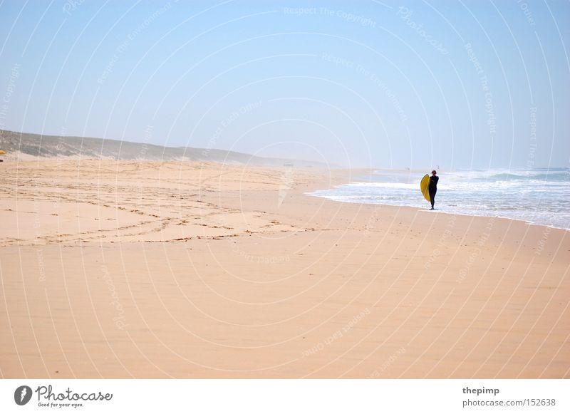 go surfing Meer Strand Sport Spielen Sand Wellen Küste Frankreich Surfen Wassersport Atlantik Flut Gezeiten Ebbe Surfbrett