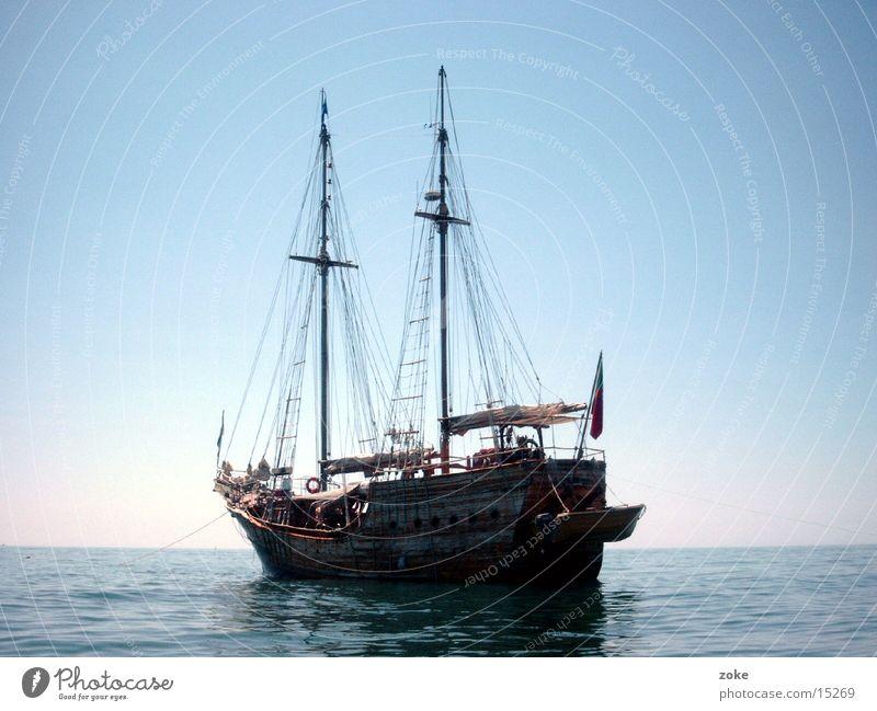 Piratenschiff Portugal Wasserfahrzeug Europa piratenschiff
