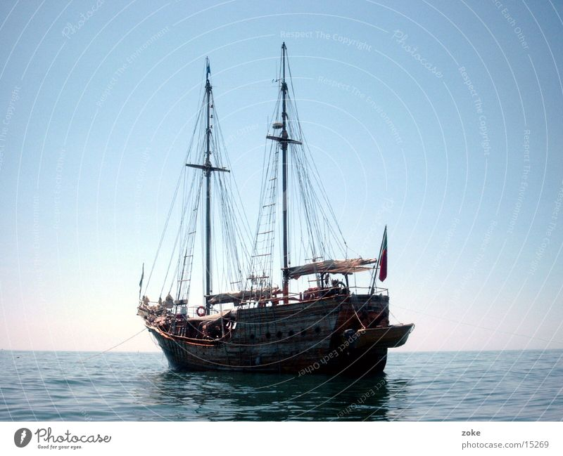 Piratenschiff Wasserfahrzeug Europa Portugal