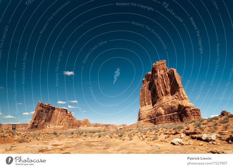 Colorado Desert Zufriedenheit Sinnesorgane Erholung ruhig Ferien & Urlaub & Reisen Abenteuer Ferne Freiheit Sommer Sonne Berge u. Gebirge Natur Landschaft