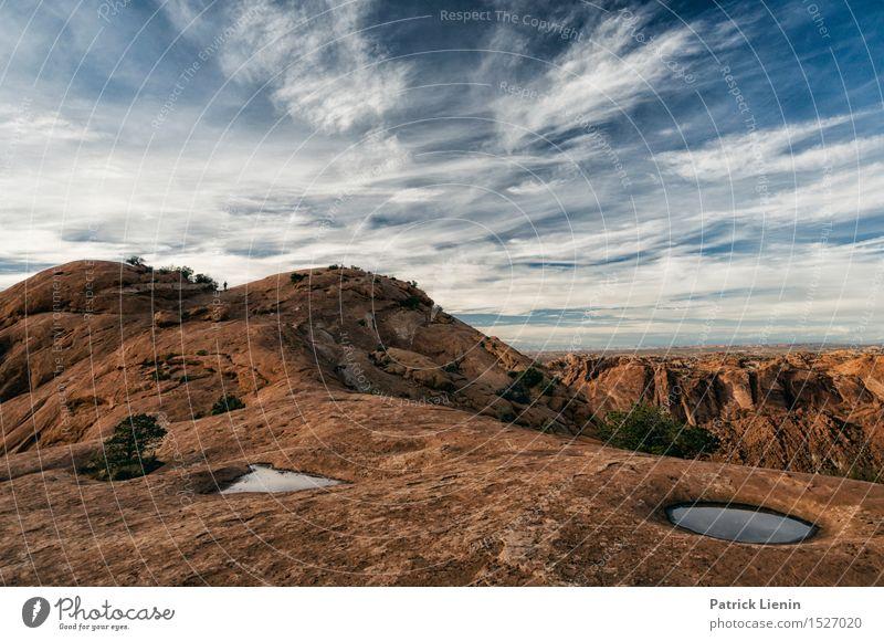 Canyonlands National Park Wohlgefühl Zufriedenheit Sinnesorgane Ferien & Urlaub & Reisen Abenteuer Ferne Freiheit Sommer Berge u. Gebirge Umwelt Natur