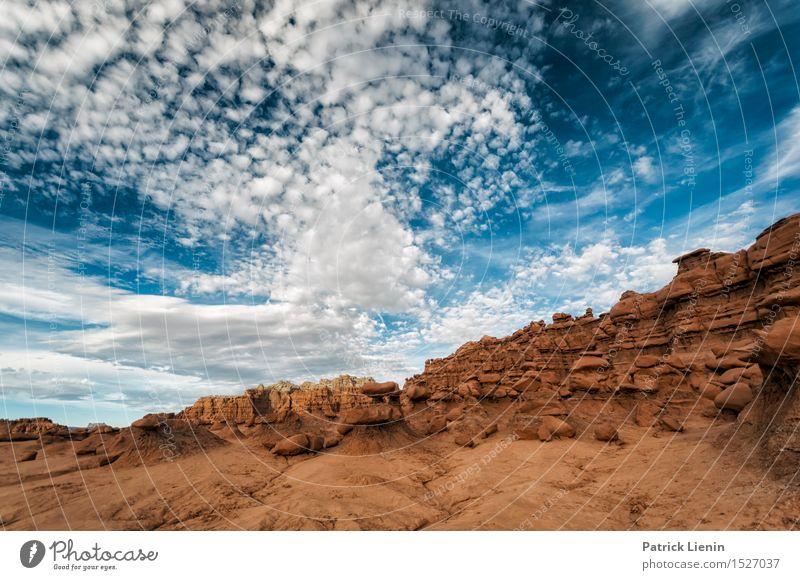 Desertscape harmonisch Wohlgefühl Ferien & Urlaub & Reisen Ausflug Abenteuer Ferne Freiheit Sommer Berge u. Gebirge Umwelt Natur Landschaft Himmel Wolken Klima