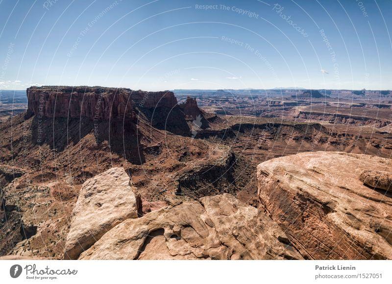 Land of Canyons Natur Ferien & Urlaub & Reisen Sommer Landschaft Ferne Berge u. Gebirge Umwelt Wärme Freiheit Felsen Park Tourismus Zufriedenheit Wetter wandern