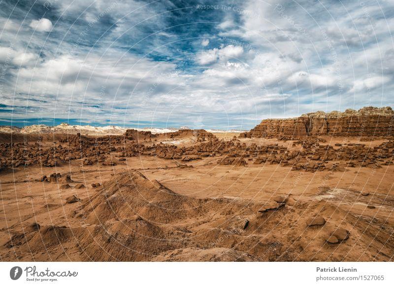 Abenteuerland Ferien & Urlaub & Reisen Sommer Berge u. Gebirge Umwelt Natur Landschaft Urelemente Erde Sand Himmel Wolken Klima Klimawandel Wetter