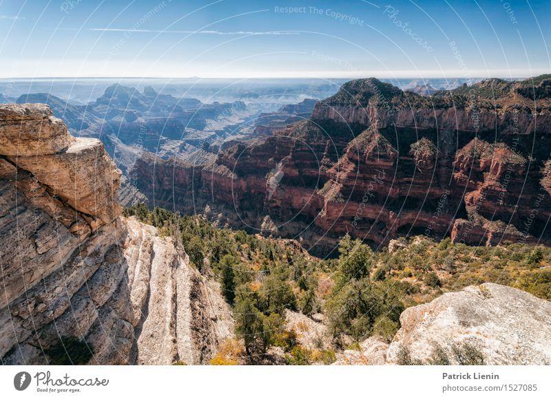 Grand Canyon Wellness Leben Wohlgefühl Ferien & Urlaub & Reisen Abenteuer Sommer Berge u. Gebirge Umwelt Natur Landschaft Urelemente Erde Himmel Herbst Klima