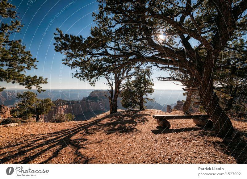 Angels Window Natur Ferien & Urlaub & Reisen Pflanze blau Sommer Baum Sonne Erholung Landschaft Ferne Wald Berge u. Gebirge Umwelt Freiheit Wetter Klima