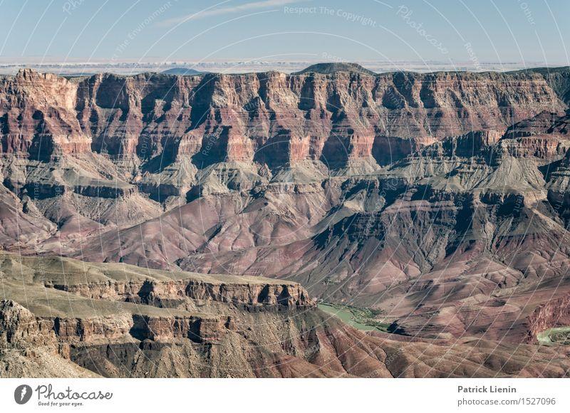 Grand Canyon Himmel Natur Ferien & Urlaub & Reisen Sommer Landschaft Ferne Berge u. Gebirge Freiheit Erde Felsen Wetter wandern Ausflug Klima Abenteuer