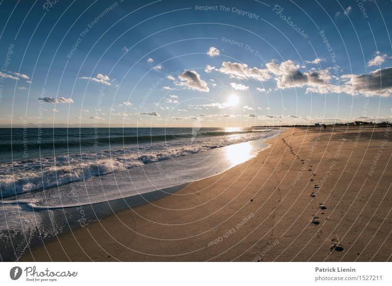 Jenseits der Fünf Sinne schön Ferien & Urlaub & Reisen Abenteuer Freiheit Sonne Strand Meer Wellen Umwelt Natur Landschaft Sand Himmel Wolken Sommer Klima