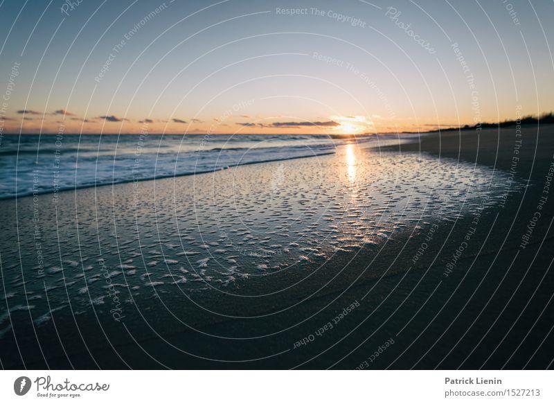 Magic Moments schön Ferien & Urlaub & Reisen Abenteuer Freiheit Sonne Strand Meer Wellen Umwelt Natur Landschaft Urelemente Sand Wasser Himmel Wolken Sommer