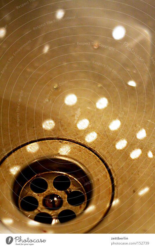Spülstein Wasser Ernährung Küche Handwerker Abfluss Reparatur Haushalt Rest Waschbecken Konfetti Geschirrspülen Lichtpunkt Küchenspüle Reinigen Fussel