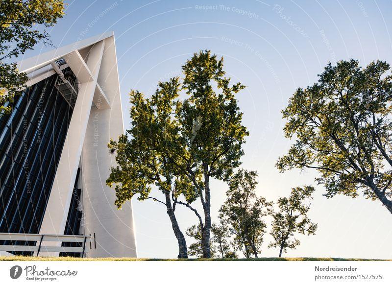 Eismeerkathedrale Ferien & Urlaub & Reisen Stadt Baum Architektur Religion & Glaube Gebäude Fassade Park Tourismus elegant ästhetisch Kirche einzigartig