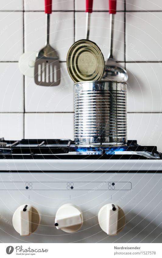 Schnelle Küche Lebensmittel Suppe Eintopf Ernährung Mittagessen Fastfood Häusliches Leben Essen trendy beweglich Einsamkeit einzigartig Pause skurril sparsam
