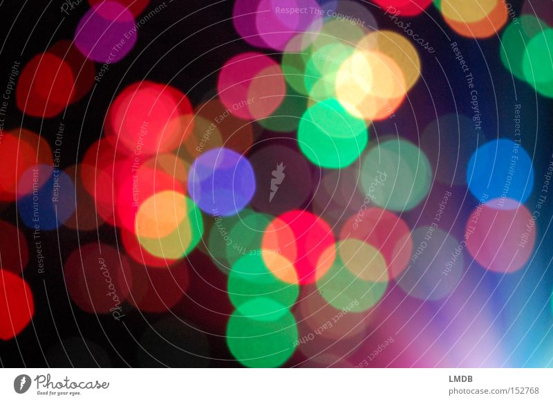Silvester-Confetti Farbe Freude Feste & Feiern Fröhlichkeit Kreis Punkt Silvester u. Neujahr Karneval mehrfarbig Licht Strukturen & Formen Ausgelassenheit