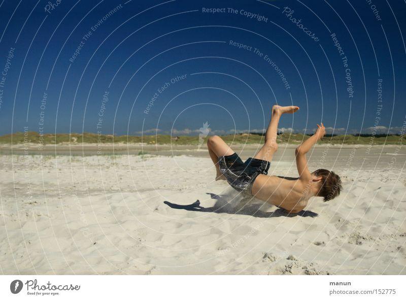 Springinsfeld II Kind Jugendliche Sommer Freude Strand Ferien & Urlaub & Reisen Spielen Bewegung Glück Gesundheit Freizeit & Hobby sportlich Wohlgefühl