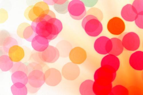 Blubber-Punkte für Mädchen rot gelb Party orange mehrfarbig rosa Hintergrundbild Fröhlichkeit Dekoration & Verzierung Fleck Warme Farbe