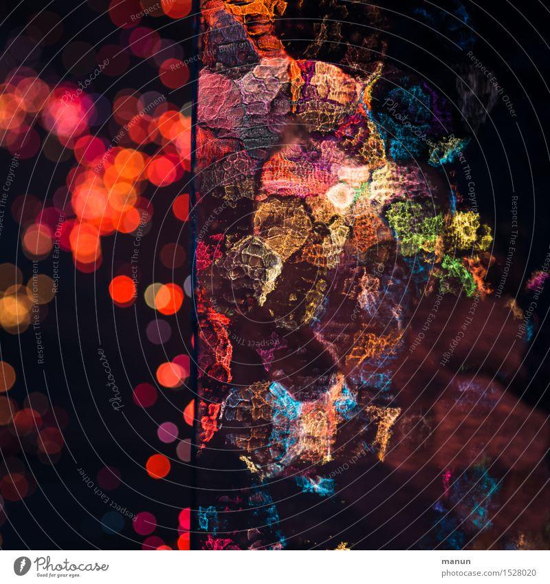 Rotlicht rot Freude schwarz Kunst Feste & Feiern Party Stimmung Design glänzend leuchten Dekoration & Verzierung Tanzen Energie fantastisch Veranstaltung trendy