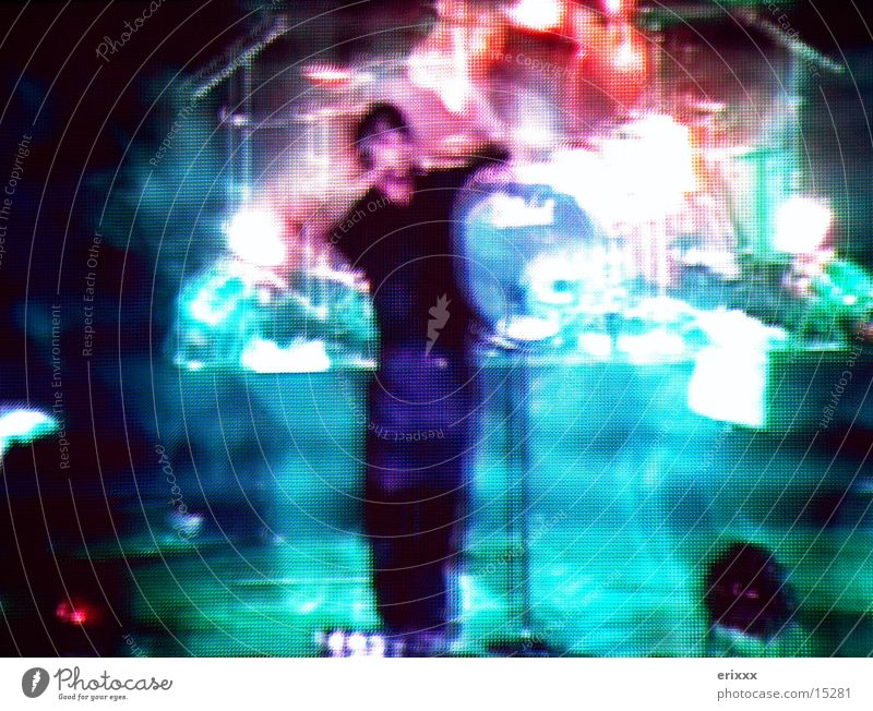 Sziget Mainstage Leinwand Bühne Sänger live Fototechnik Stage Musik