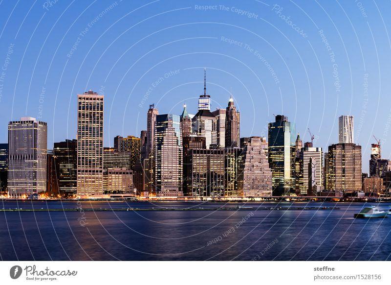 NYC |15 New York City Manhattan USA Stadt Stadtleben Hochhaus Skyline ästhetisch Freiheit Amerika Stadtzentrum East River Wahrzeichen Morgen Sonnenaufgang