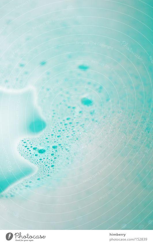 badewasser Wasser schön Erholung Sauberkeit Flüssigkeit türkis Kosmetik Körperpflege Schaum Seife Badeschaum Badewasser