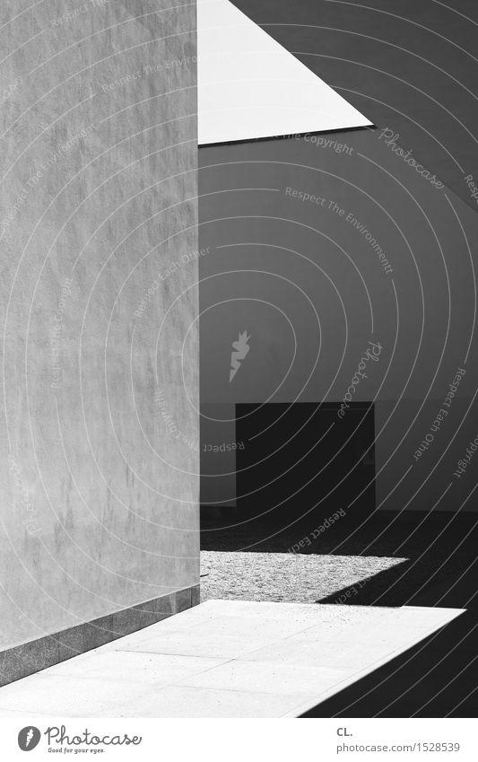 serralves museum Museum Sonnenlicht Schönes Wetter Haus Gebäude Architektur Mauer Wand Tür eckig komplex Schwarzweißfoto Außenaufnahme abstrakt Menschenleer Tag