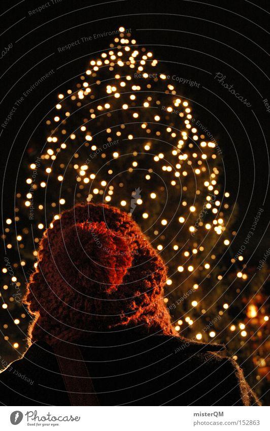 Weihnachtsmarkt means Glühkunascheln! Weihnachten & Advent Winter Farbe kalt Feste & Feiern Weihnachtsbaum Punkt Licht gemütlich Vorfreude Dezember besinnlich