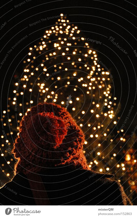 Weihnachtsmarkt means Glühkunascheln! Weihnachten & Advent Winter Farbe kalt Feste & Feiern Weihnachtsbaum Punkt Licht gemütlich Vorfreude Dezember besinnlich Baumschmuck