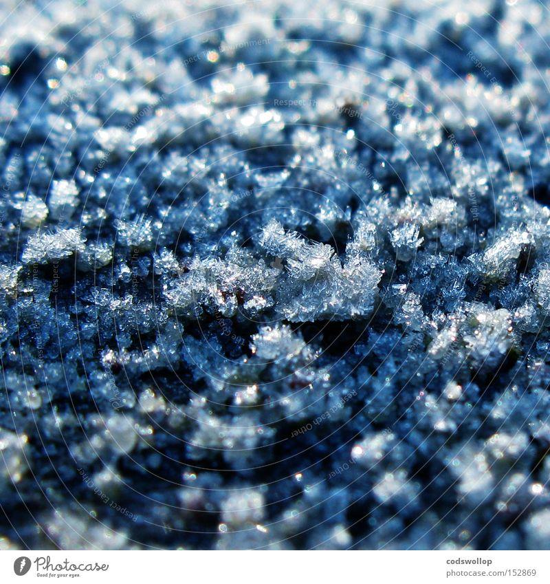 titan Winter kalt Schnee Eis Wetter Frost Wissenschaften frieren Schnellzug Raureif Eiskristall