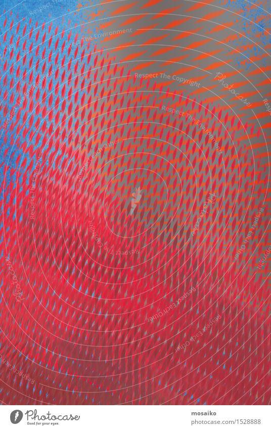 grid 2 blau rot Hintergrundbild Stil Lifestyle außergewöhnlich rosa Design elegant retro einfach einzigartig Grafik u. Illustration Niveau verfaulen Gemälde