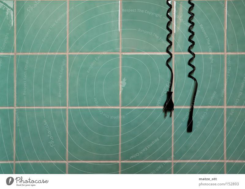 Ladekabel Wand Elektrizität Bad Kabel Fliesen u. Kacheln Fuge